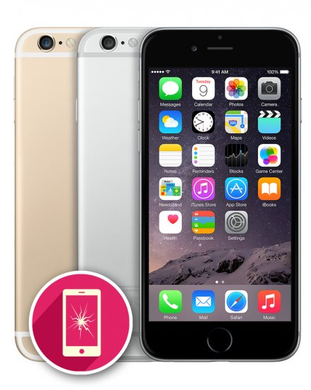 huge discount e6c50 ab8ab Apple iPhone 6 LCD Screen Repair Phone Unlockers Derby - Apple ...